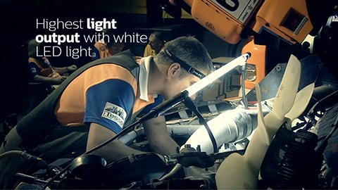 LED Inspection video