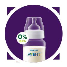 5b7abc522316b Mamadera anticólicos Philips Avent sin BPA