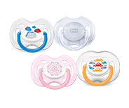 Chupetes Philips Avent con decoración