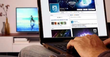 Facebook de Philips TV